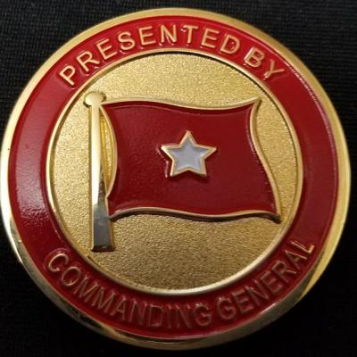 USMC Training Command Commanding General Challenge Coin by Phoenix Challenge Coins