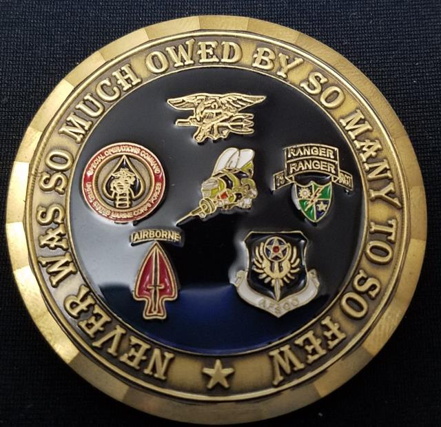 US Navy Seabees Challenge Coin