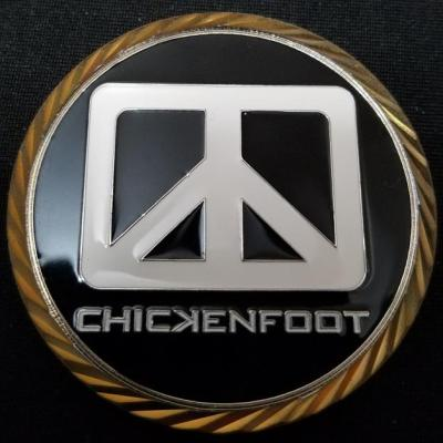 US DOD Chicken foot Challenge Coin by Phoenix Challenge Coins back