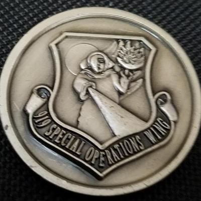 USAF AFSOC 919th Special Operations Wing 919th SOW Challenge Coin