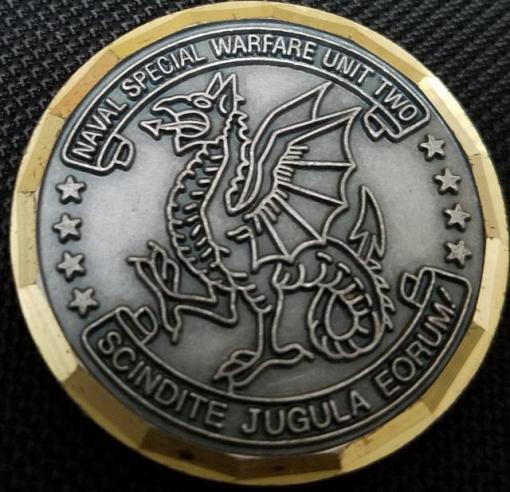 US Naval Special Warfare Unit 2 Boblingen Germany SEAL team SBU team SBS Challenge Coin V2