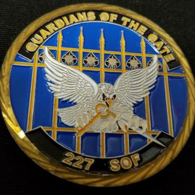 Ultra Rare USAF AFSOC 227th SOS 227th Special Operations Squadron Tier 1 SMU Challenge Coin