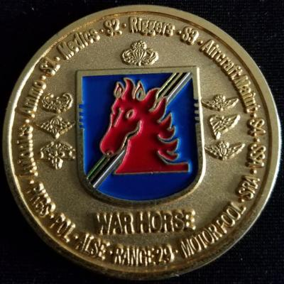 ARSOAC 160th Special Operations Aviation Regiment 4/160TH SOAR(A) 4th Battallion Challenge Coin