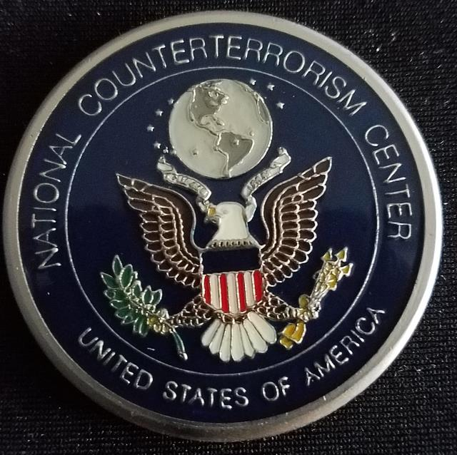 Rare US Intelligence Community National Counter Terrorism Center NCTC challenge coin