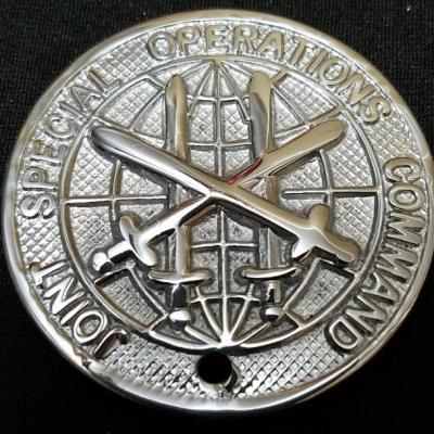 CINC JSOC Joint Special Operations Command Early CG Coin Unnamed Shiny Nickel Challenge Coin