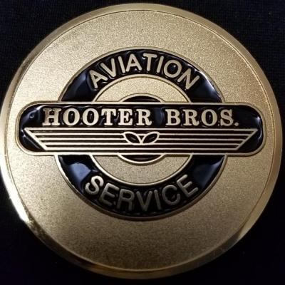 ARSOAC Delta Company 1st Battalion 160th Special Operations Aviation Regiment D/1/160TH SOAR(A) Night Stalkers Hooter Brothers Aviation Service Challenge Coin