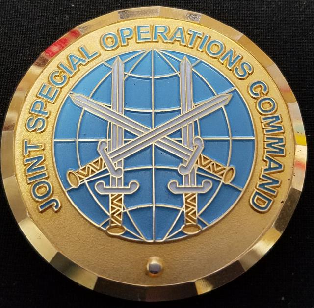 Rare JSOC J6 Joint Special Operations Command Kurt Klausner Challenge Coin