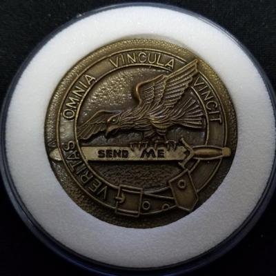 Rare Early JSOC ISA Intelligence Support Activity Tier 1 SMU OEF v2 Challenge Coin