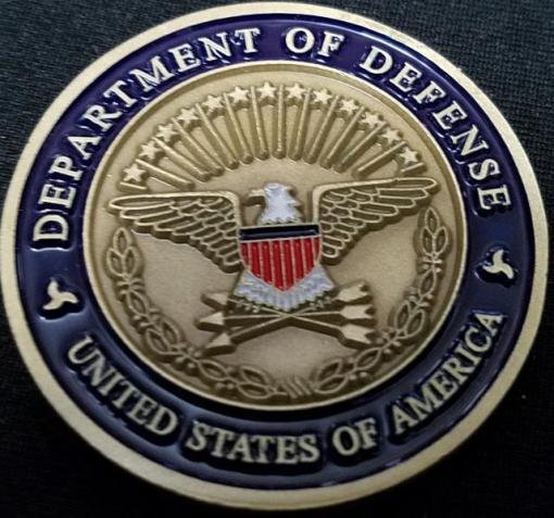 Rare Department of Defense Combating Terrorism challenge coin