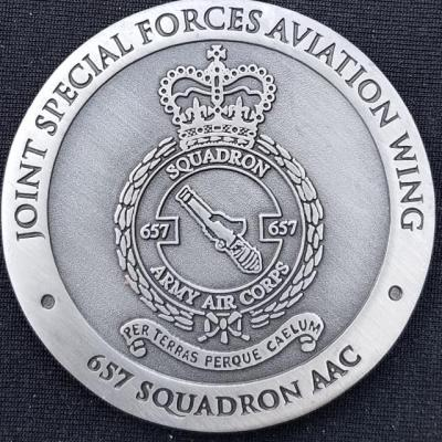Rare UK Special Operations Forces 657 AAC Joint Special Forces Aviation Wing Coin Number 48 Challenge Coin