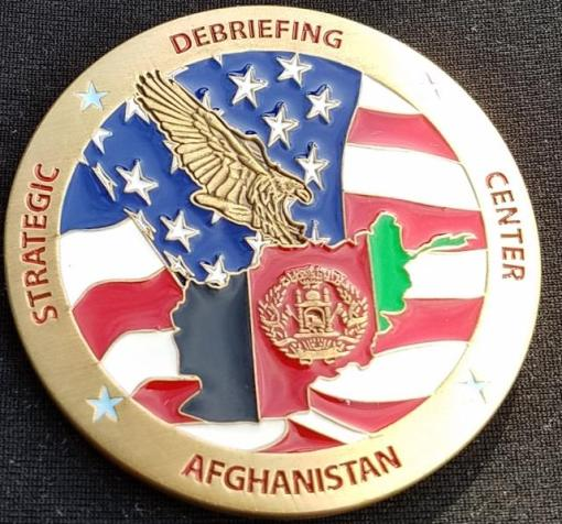 Rare RC-E Strategic Intelligence Debriefing Ctr Parawan Custom Challenge Coin By Phoenix Challenge Coins