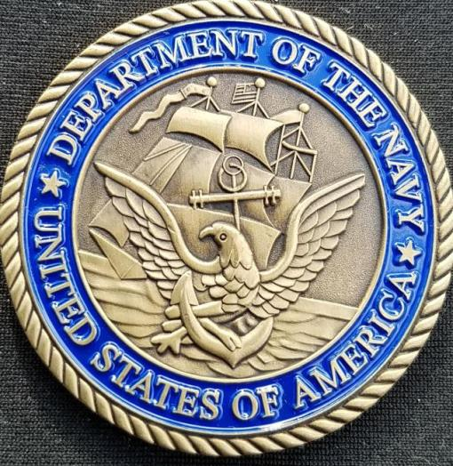 Department of the Navy Public Affairs Support Element Challenge Coin by Phoenix Challenge Coins