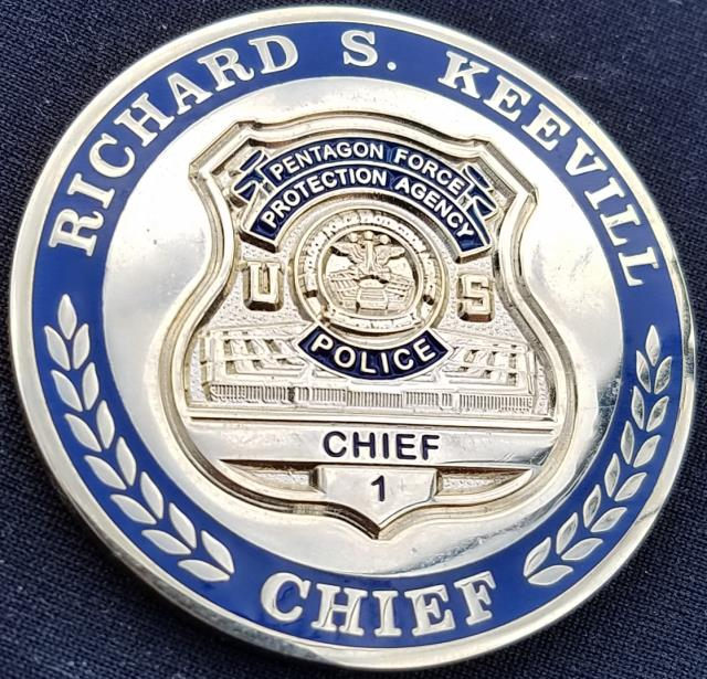 Pentagon Police Chief Richard Keevill Police Chief Challenge Coin - Phoenix  Challenge Coins
