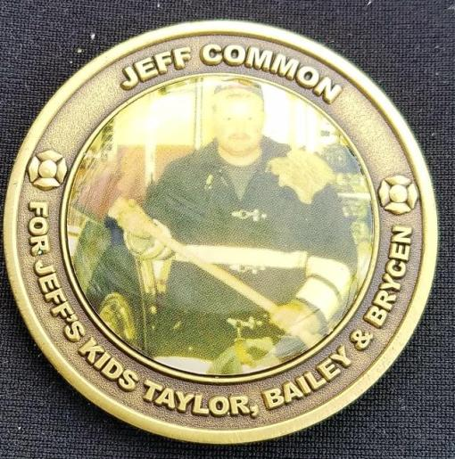 Farwest Fire LODD Coin FF Jeff Common by Phoenix Challenge Coins
