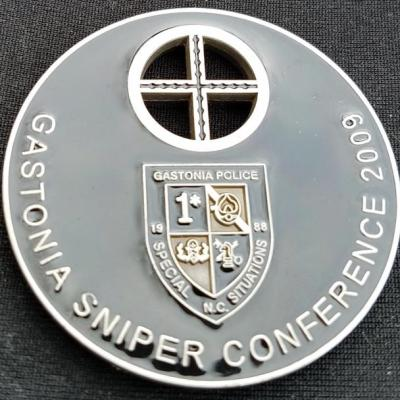 Gastonia PD 2009 Sniper Conference Challenge Coin By Phoenix Challenge Coins back