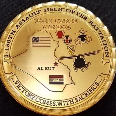 1/150th AHB 1st BN 150th Assault Helicopter Battalion OIF Deployment Challenge Coin by Phoenix Challenge Coins