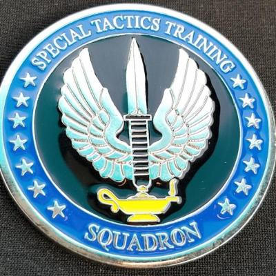 USAF AFSOC STS-TS Combat Athlete Cell Special Tactics Squadron Training Squadron Challenge Coin from Phoenix Challenge Coins