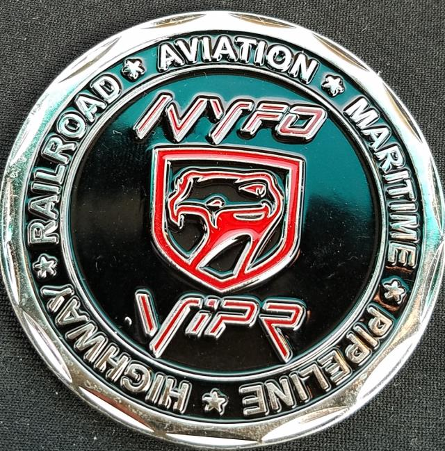 DHS FAM NYC VIPR Federal Air Marshal Visible Intermodal Prevention Response Team Challenge Coin from Phoenix Challenge Coins