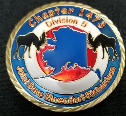 AFSA Chapter 1473 USAF Custom Coin by Phoenix Challenge Coins back