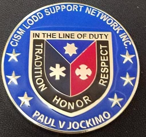 Critical Incident Support Network Line of Duty Death Incident Support Network Westchester County New York Custom Coin