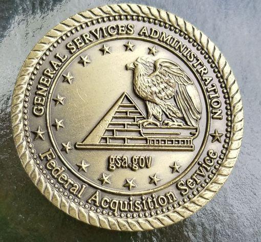 GSA Expo 2007 Challenge Coin