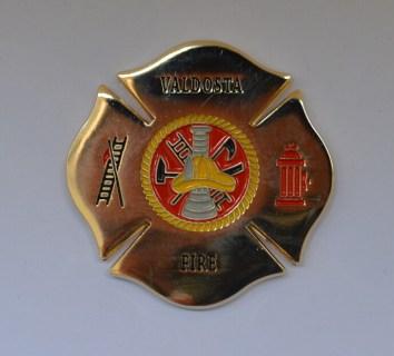 Valdosta GA Fire Academy Class 1-2015 coin