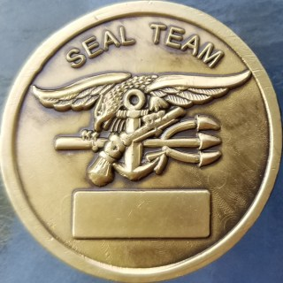 Early US Navy UDT SEAL Team Coin Front
