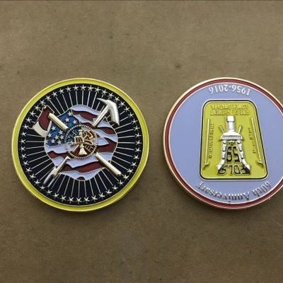 Lower Swatara Fire Department 60th anniversary Challenge Coin