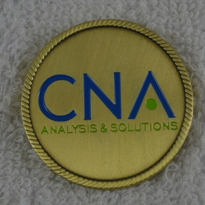 CNA Strategic studies custom coin