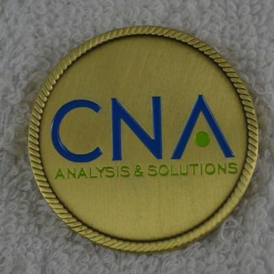 CNA Strategic studies custom coin