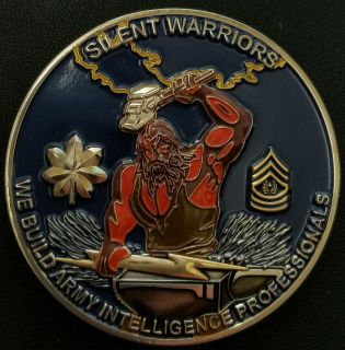 741st Military Intelligence Battalion Command Team Backside