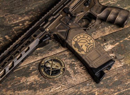 @Battlearms custom build with cerakote by @hillbilly223urban and @magpod.   Photo Cred: Joint collaboration between @metalhead_1 and @blackwirestudio during @emerge_social #shoot with @xproducts and @otbfirearms    #gunporn  #AR15 #PhoenixChallengeCoins #emerge_social #merica #badass #gun #beastmode #2ndamendment #molonlabe #tactical #rifle
