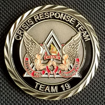 CALIFORNIA DEPARTMENT OF CORRECTIONS AND REHABILITATION Crisis Response Team 19 Coin