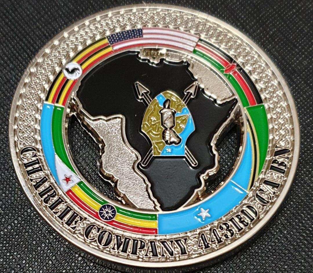 C Co 443rd CA BN Command Team Coin