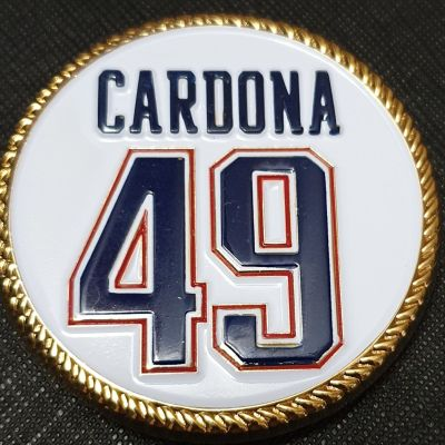 Cardona USN DET NEP Challenge Coin front
