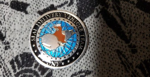 Authentic Rare Seal Delivery Vehicle Team One SDVT-1 Delta Platoon seal team challenge coin front