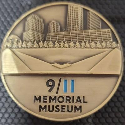 9/11 Memorial Museum Challenge Coin