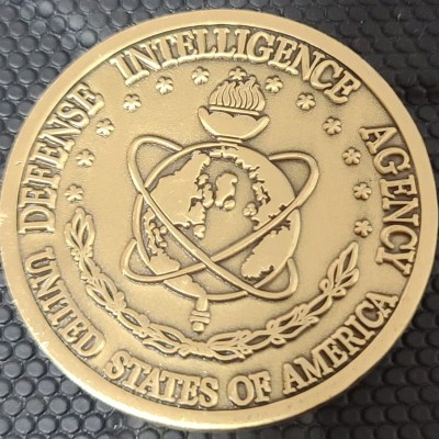 Defense Intelligence Agency Liaison Office London challenge coin
