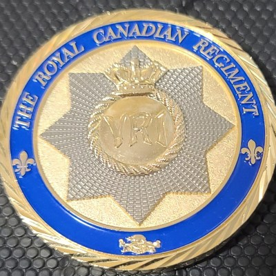 Canadian Army Royal Canadian Regiment Challenge Coin