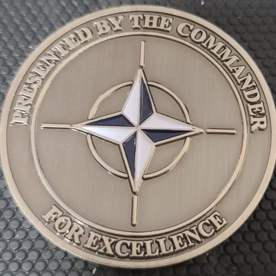 NATO Afghanistan Train Advise Assistance Command North TAAC-N Commander's Challenge Coin
