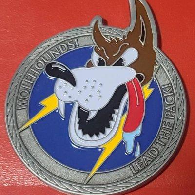 603D AOC Commander's Bottle Opener Challenge Coin