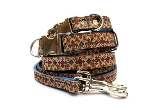 Handcrafted Motif Pattern Premium Genuine Leather Sets (Small-1)