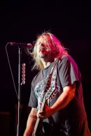 Pete Evick of the Bret Michaels Band performs live in concert at the Arizona State Fair on October 17, 2015.