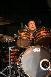 Stephen Perkins of Jane's Addiction performs live in concert at the Arizona State Fair.