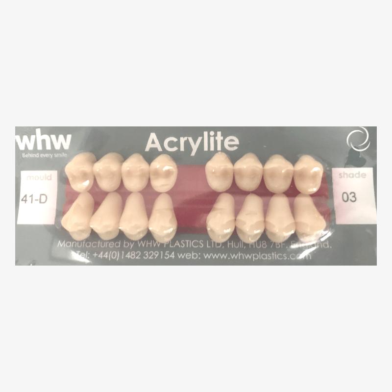 ACRYLITE Pre-Molar Teeth