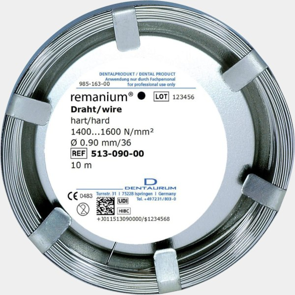 Dentaurum Round Wire 0.9mm