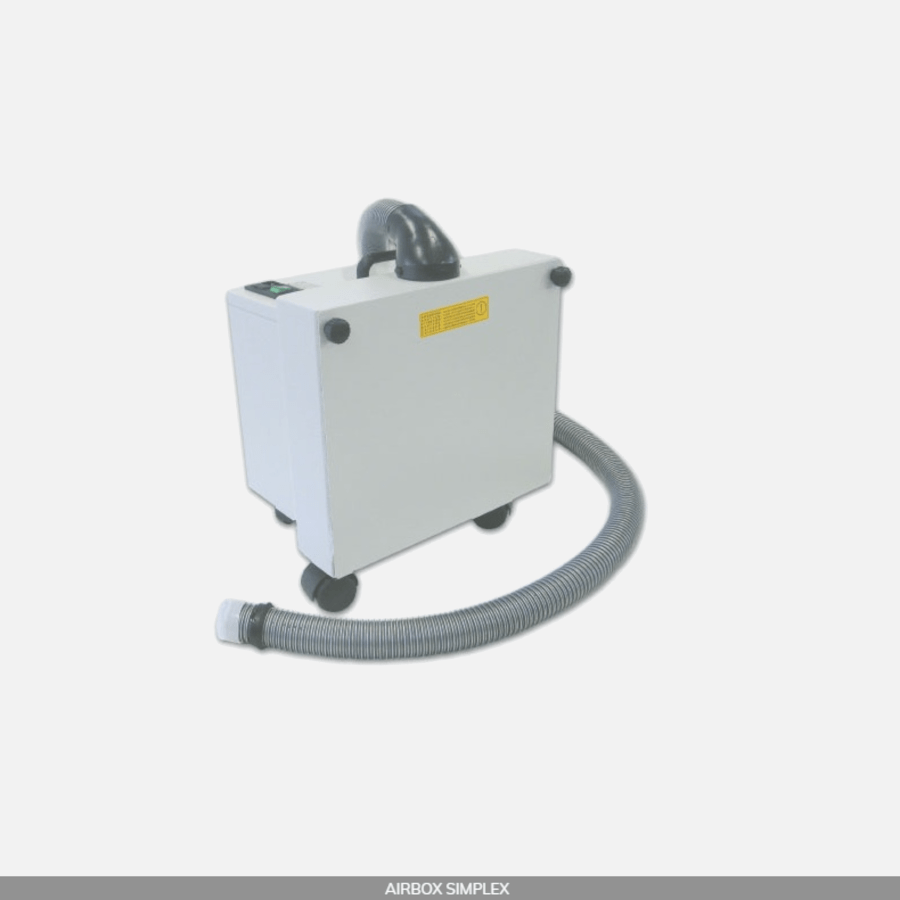 Carlo De Georgi Airbox Simplex Suction Machine