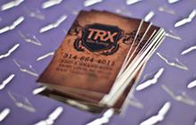 trx tattoo business cards