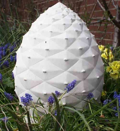 Fir Cone Garden Memorial Sculpture