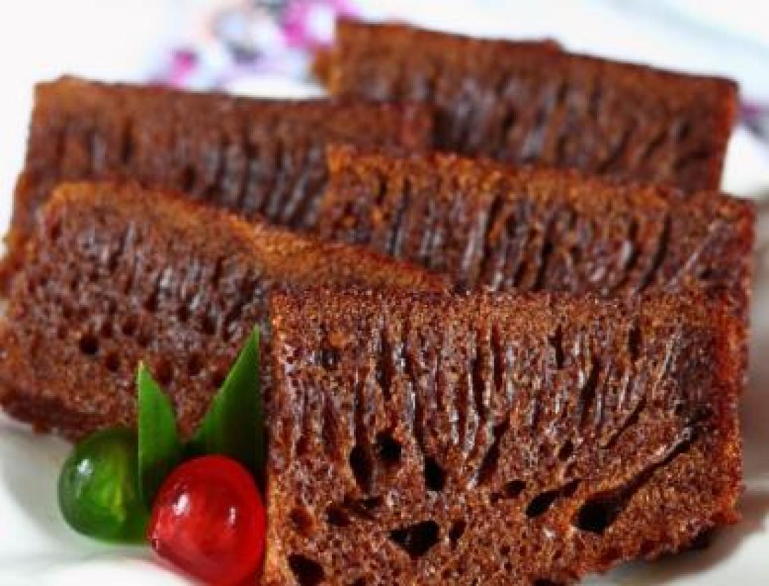 resepi kek sarang semut kukus Resepi Kek Sarang Semut Pandan Enak dan Mudah